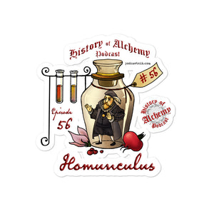 "History of Alchemy ""Homunculus"" Sticker"