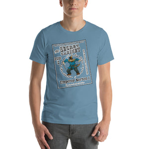 "The Secret Cabinet ""Emperor Norton"" T-Shirt (colors)"