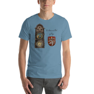 "Bohemican ""Astronomical Clock of Prague"" T-Shirt (colors)"