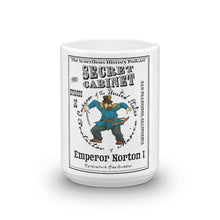 "The Secret Cabinet ""Emperor Norton"" Mug"