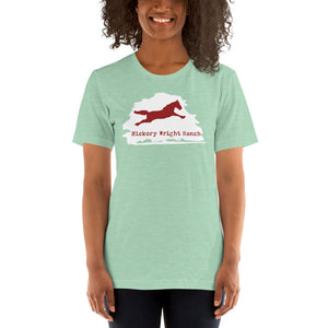 Hickory Wright Ranch white-red T-Shirt