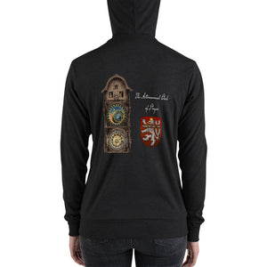 "Bohemican ""Astronomical Clock of Prague"" Zip hoodie"