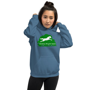 Hickory Wright Ranch green-white Hoodie