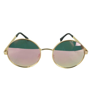 PINK ROUND TINTED SHADES