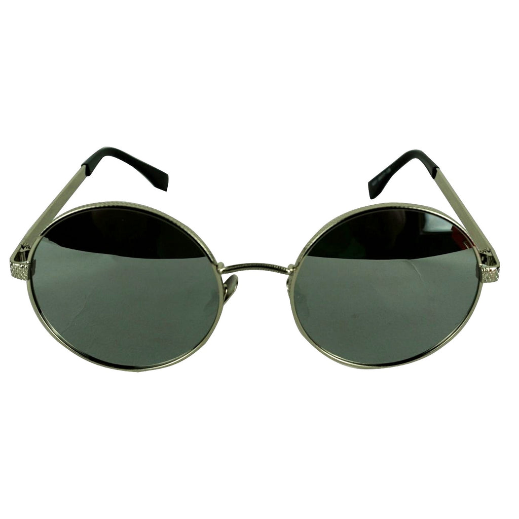 BLACK ROUND TINTED SHADES