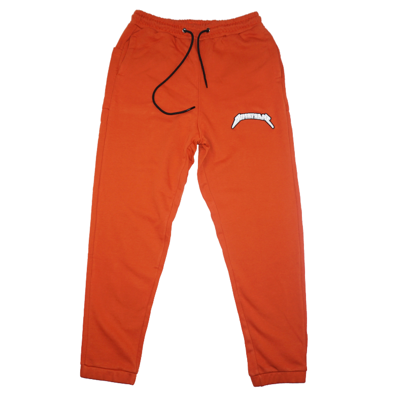 ORANGE LOGO SWEATPANTS