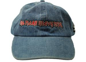 BLUE 'NO MORE HEAVY METAL' DAD HAT