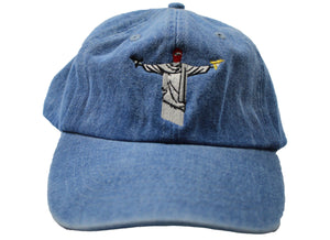 BLUE 'PROTECT THYSELF' DAD HAT