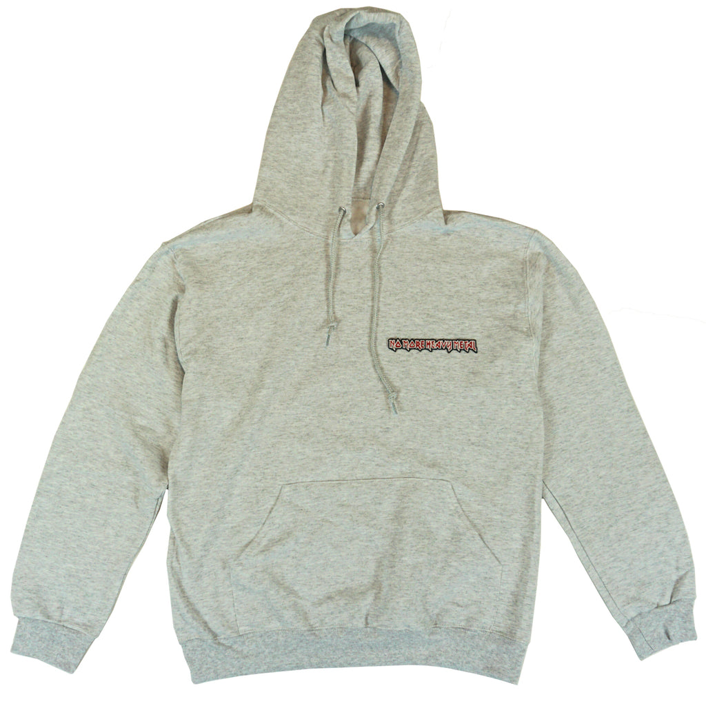 "ASH GREY ""No More Heavy Metal"" HOODIE"
