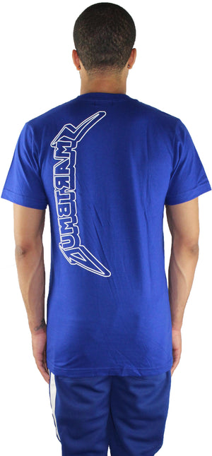 BLUE 'HARD TO KILL' T SHIRT
