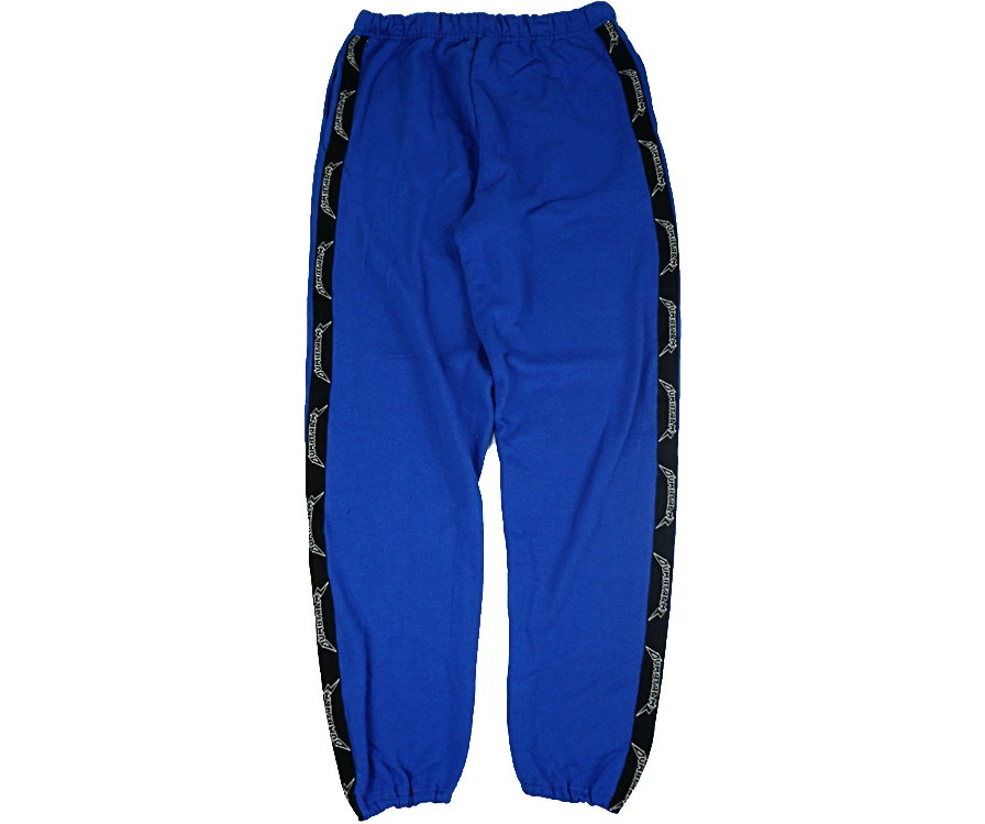 BLUE LOGO SWEATPANTS