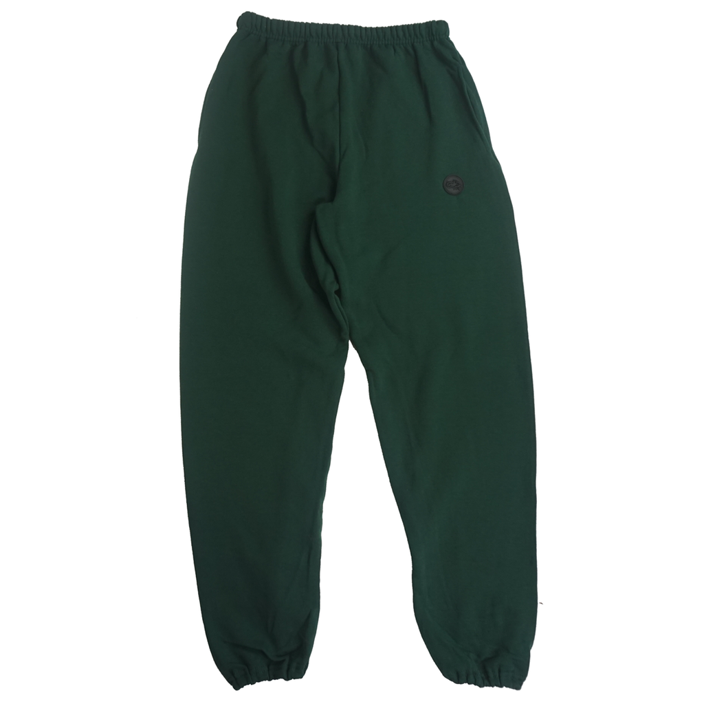 FOREST GREEN LOGO SWEATPANTS