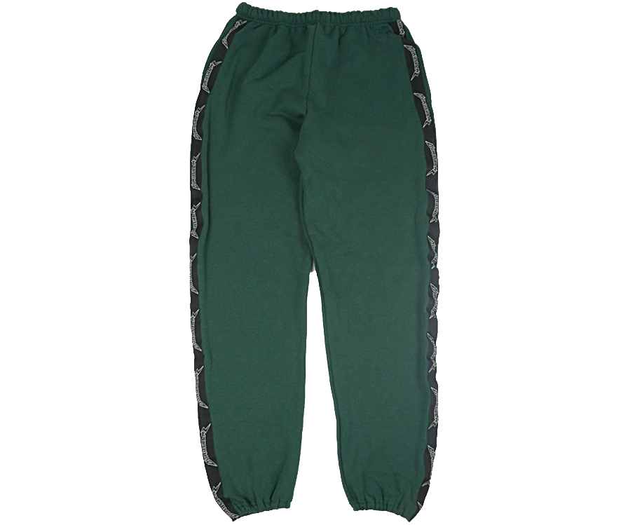 GREEN LOGO SWEATPANTS