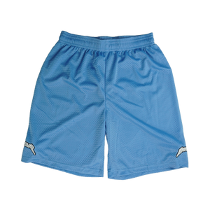 LIGHT BLUE MESH SHORTS