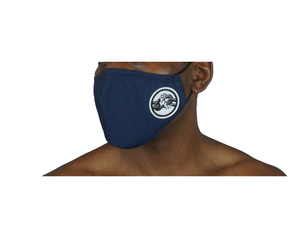 GREY LOGO MASK