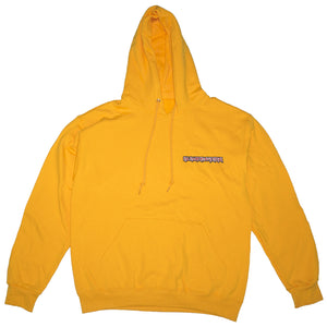 "GOLD ""No More Heavy Metal"" HOODIE"