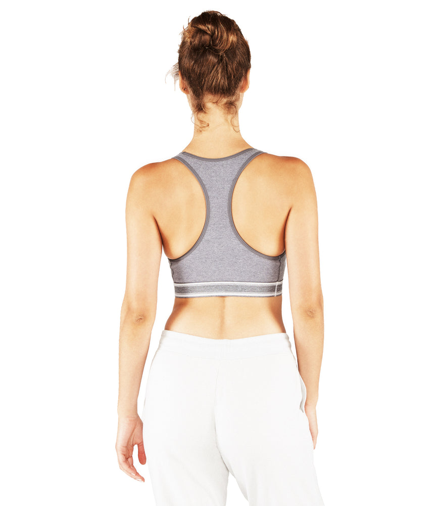 Bci Racer Back Bra : Heather-Grey