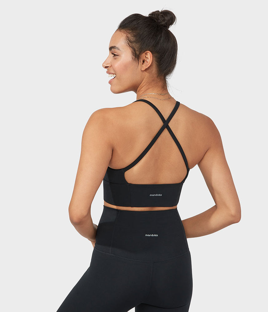 Manduka Performance Bra Darted - Black