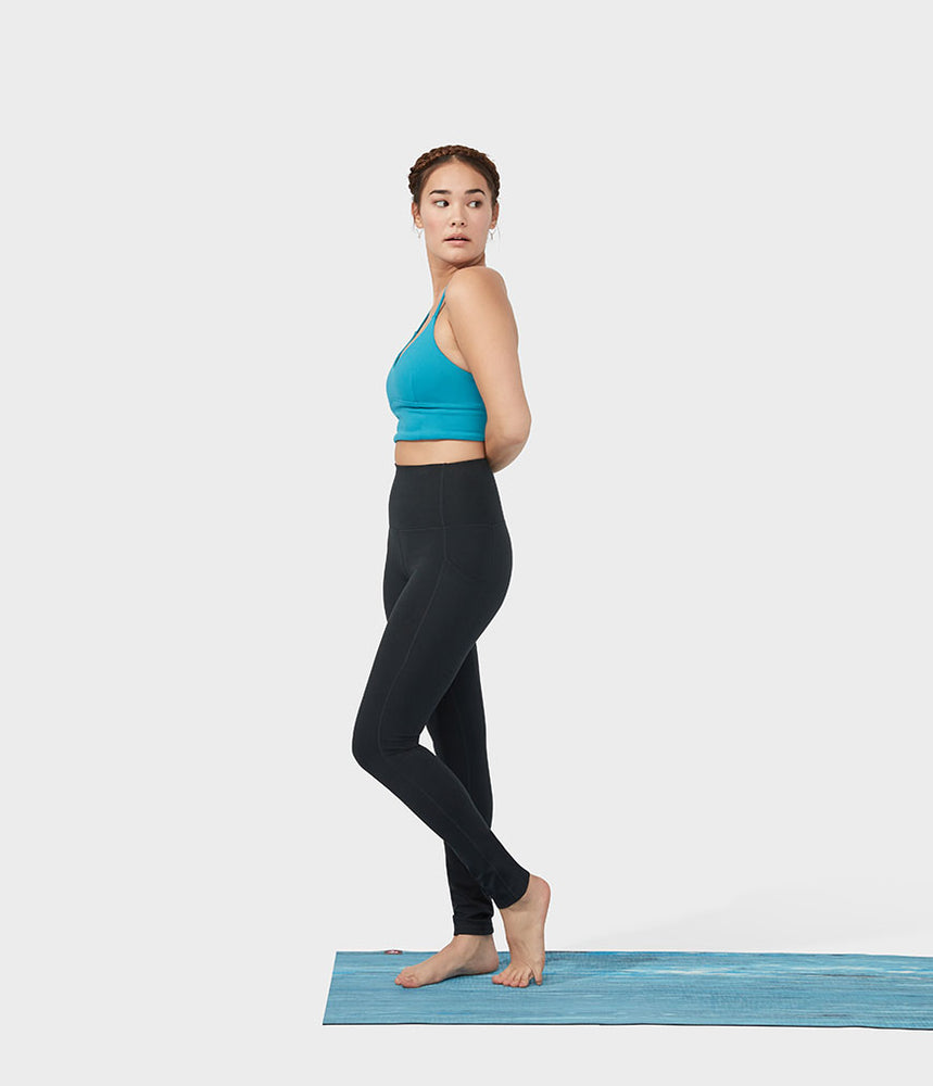 Manduka Performance Legging High Rise With Pocket - Black