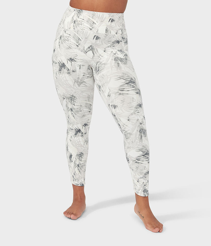 Manduka Pro Legging High Rise 7/8 With Pocket - Tropics Grey