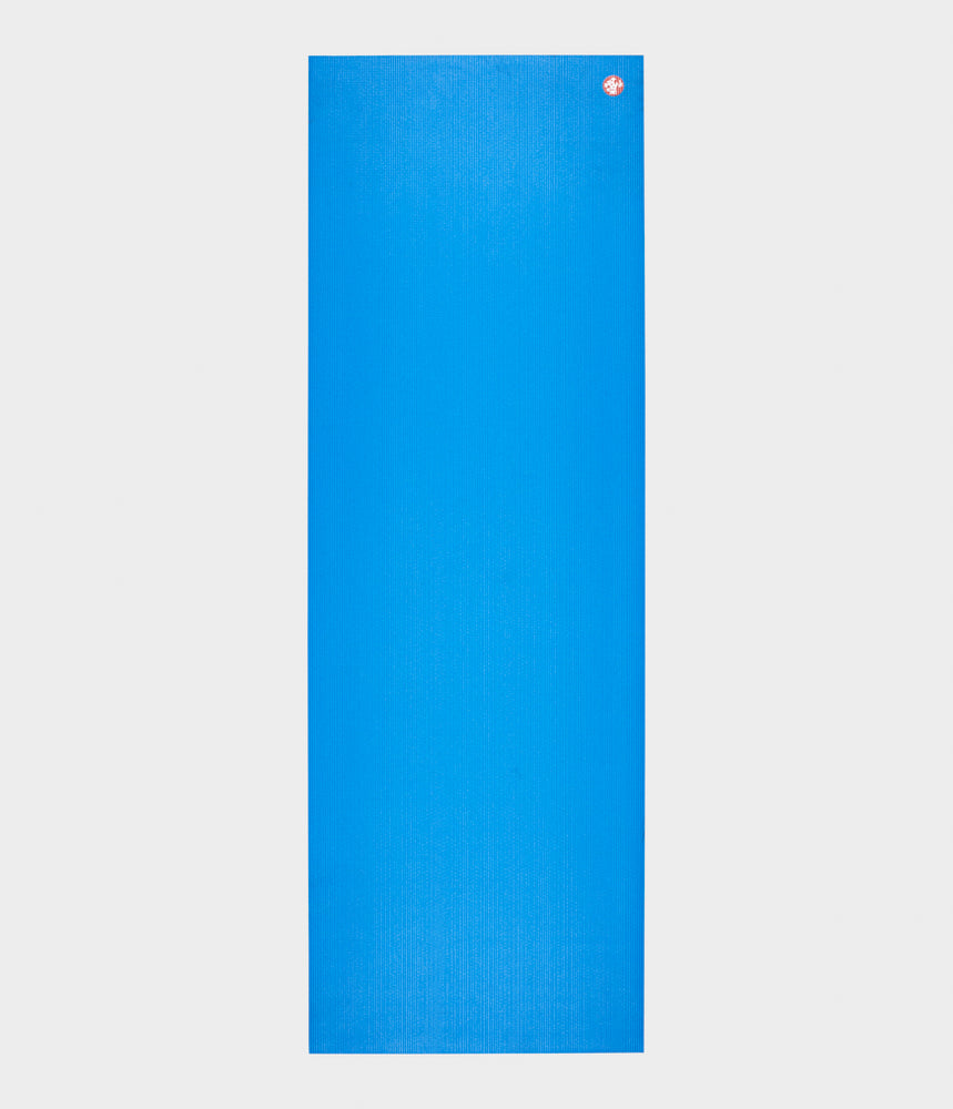 "Manduka PRO Travel Yoga Mat 71"" Solid - Be Bold Blue"