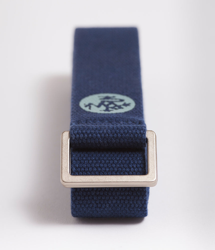 Manduka UnfoLD 2.0 Yoga Strap - Midnight 8'