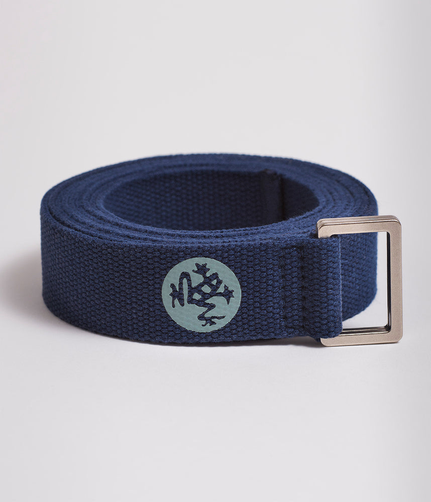 Manduka UnfoLD 2.0 Yoga Strap - Midnight 6'