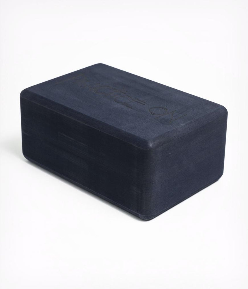 Manduka Recycled Foam Block - Midnight