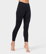 Essential Cropped Legging - Black