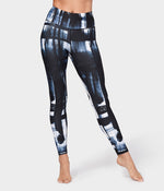 Brush Paint Legging - Blue Multi *