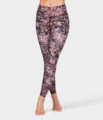 Floral Camo Legging - Fig Multi *