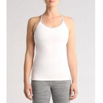 Manduka Cross Strap Cami - White