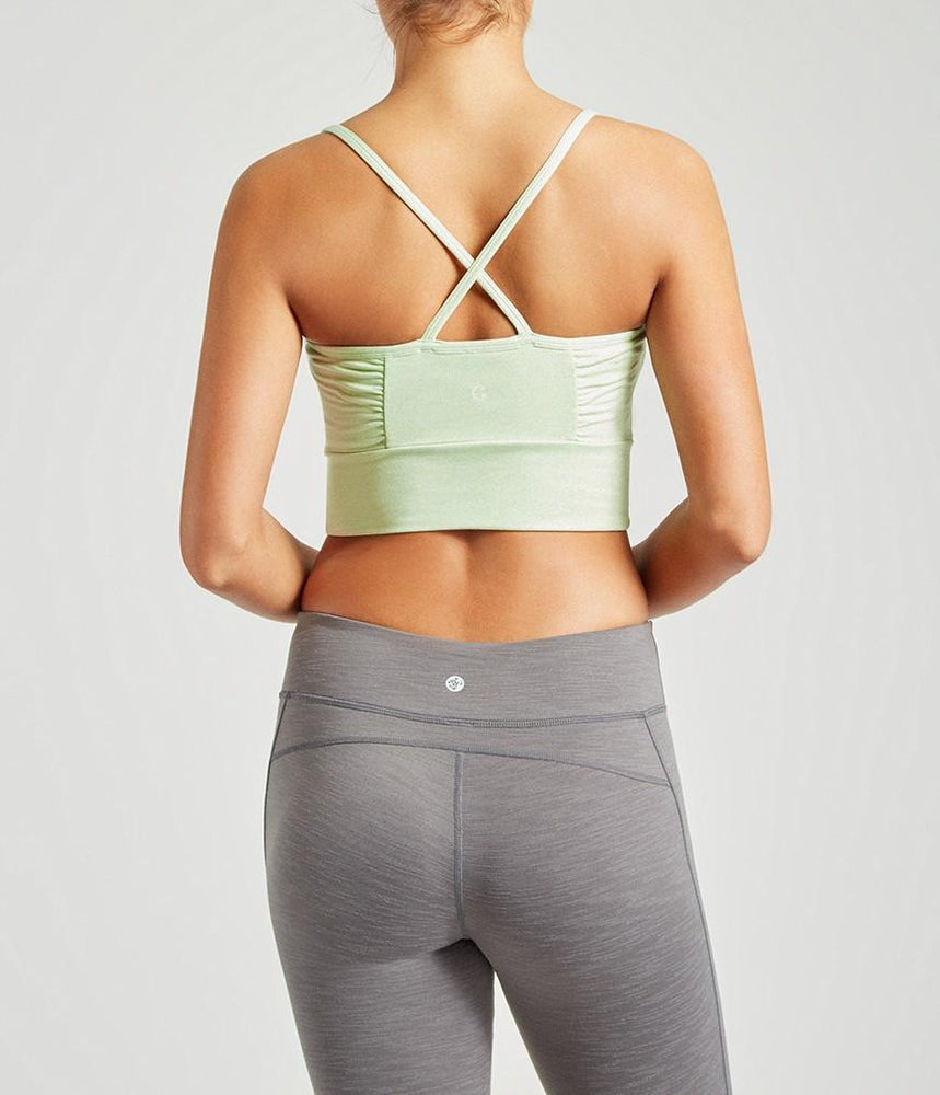 Manduka Wrap Up Bralette - Calm