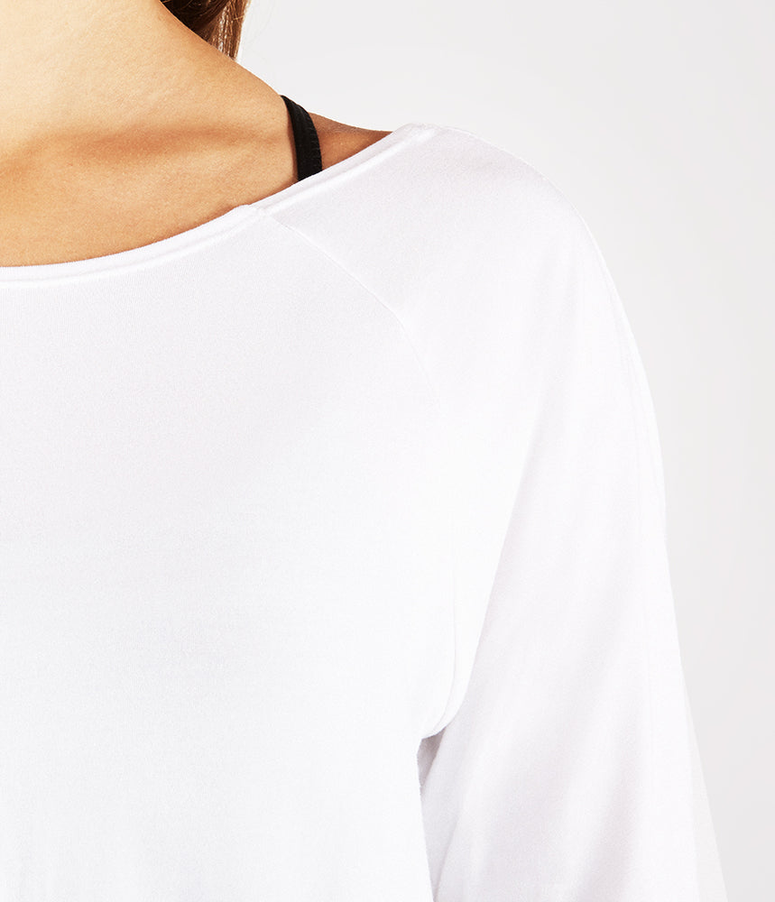 Manduka Twist Back Tee - White