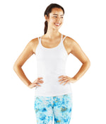 Manduka New Cross Strap Cami - White