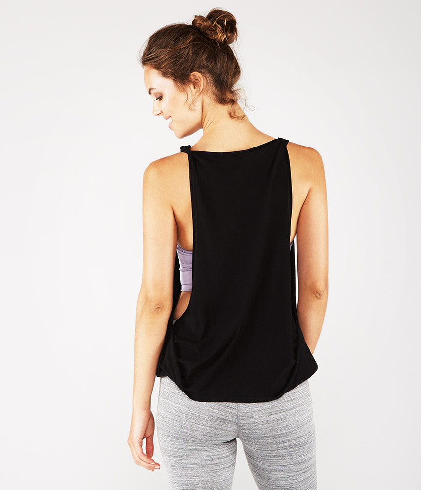 Manduka Enlight Twist Tank - Black