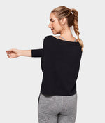 Adorn Boxy Top - Black