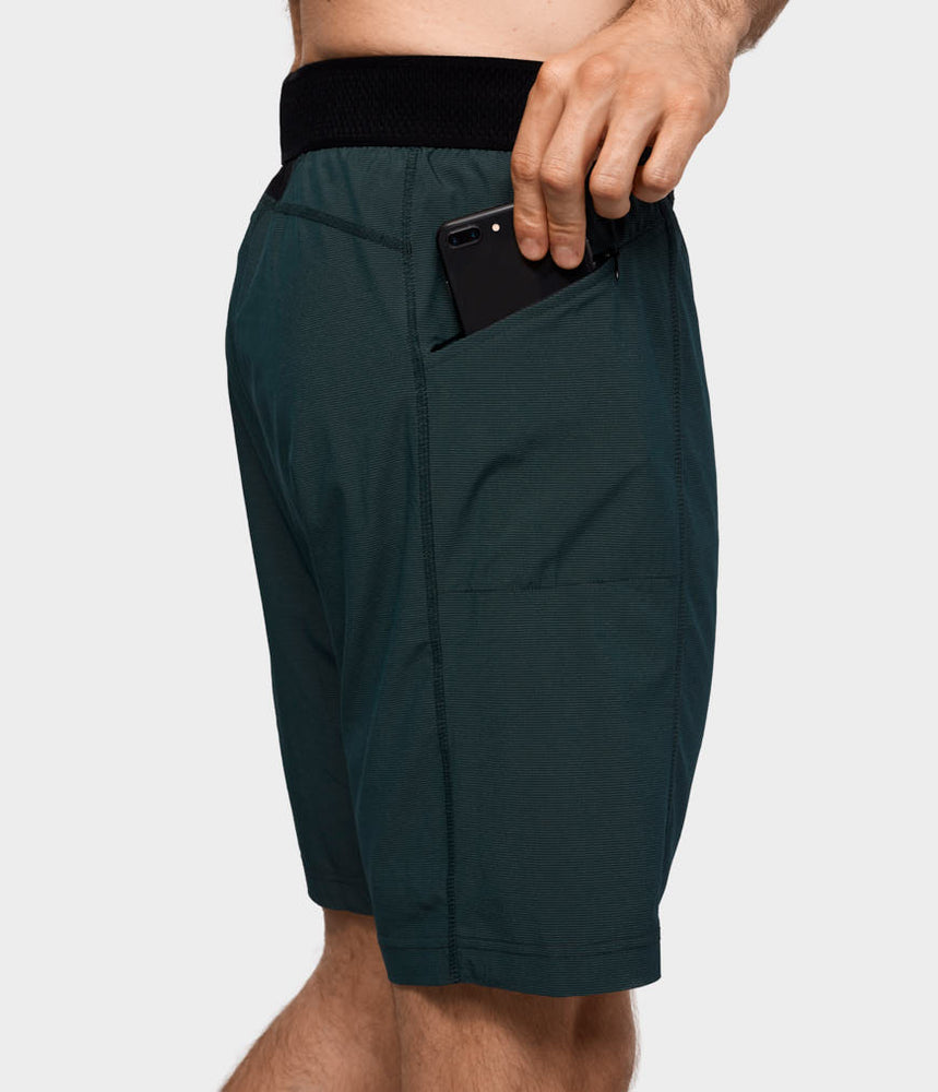 Manduka Daily Lite Short - Forest Green