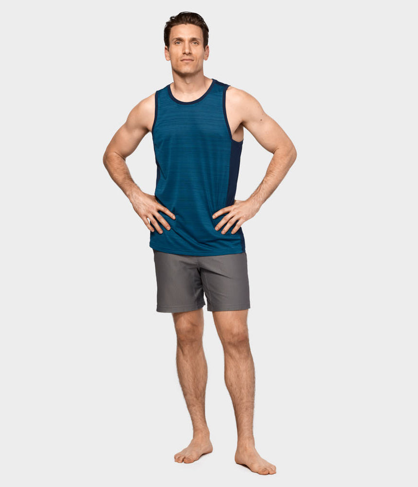 Performance Mesh Short - Thunder