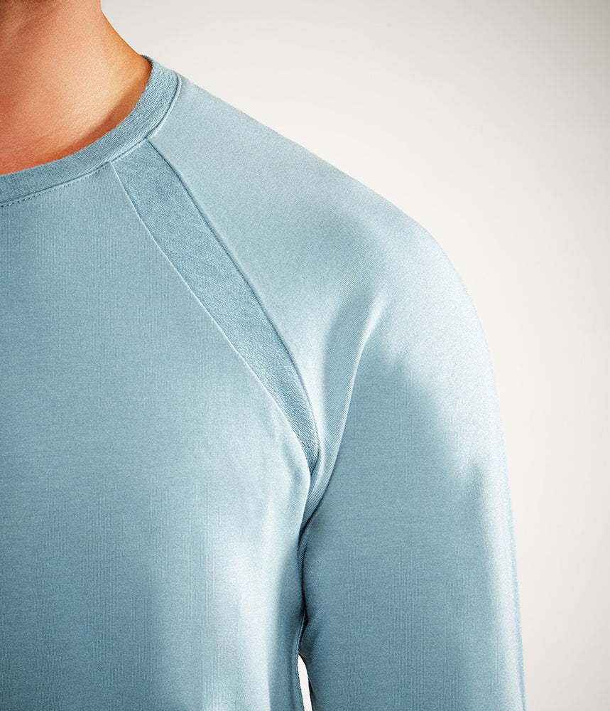 Manduka Intentional Sweat Shirt - Steel Blue