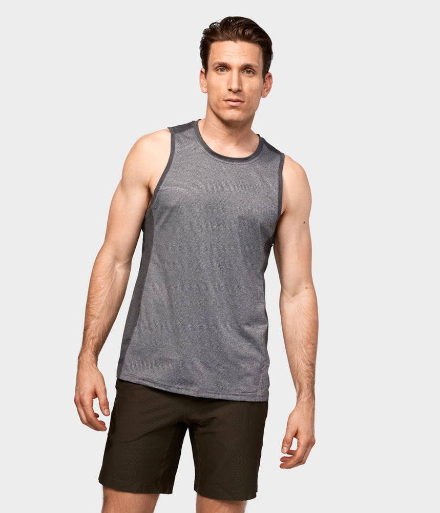 Minimalist Tank 2.0 - Dark Grey Heather