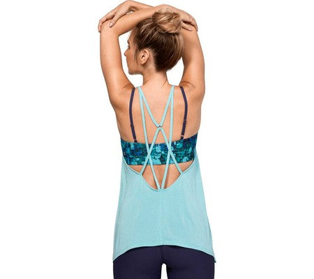 Manduka Women's Breeze Drape Tank - Light Mineral