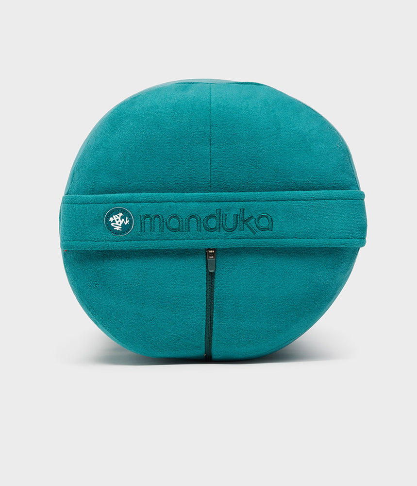 Manduka enlight Round Bolster - Deep Sea