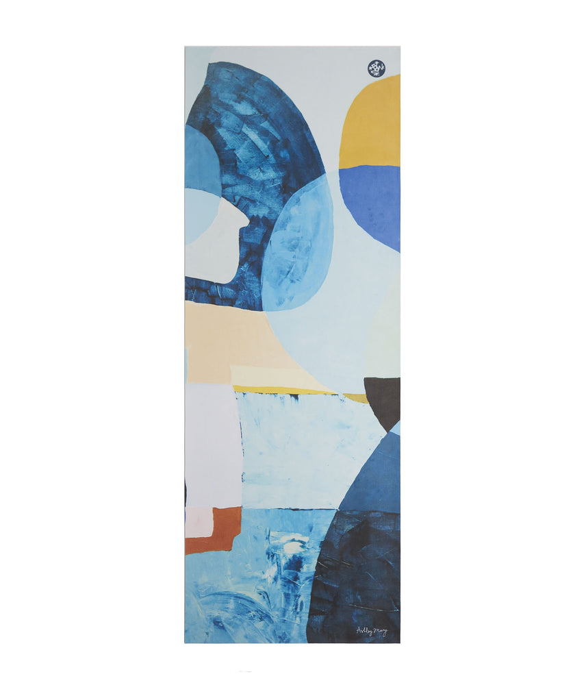 "Manduka eQua Eko 4mm-68"" Yoga Mat - Ashley Mary ~ Limited Edition Artist Design"