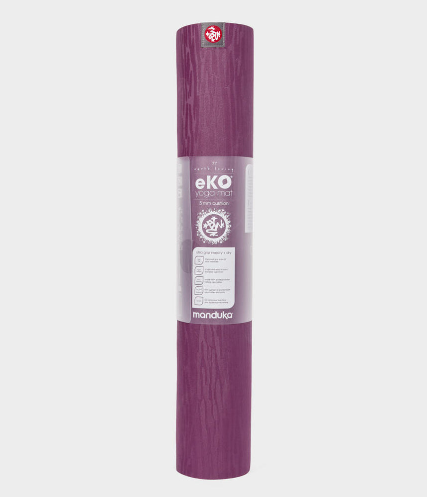 Pre-order MAY Manduka eKO Mat 6mm 2.0 - 71'' - Acai Midnight