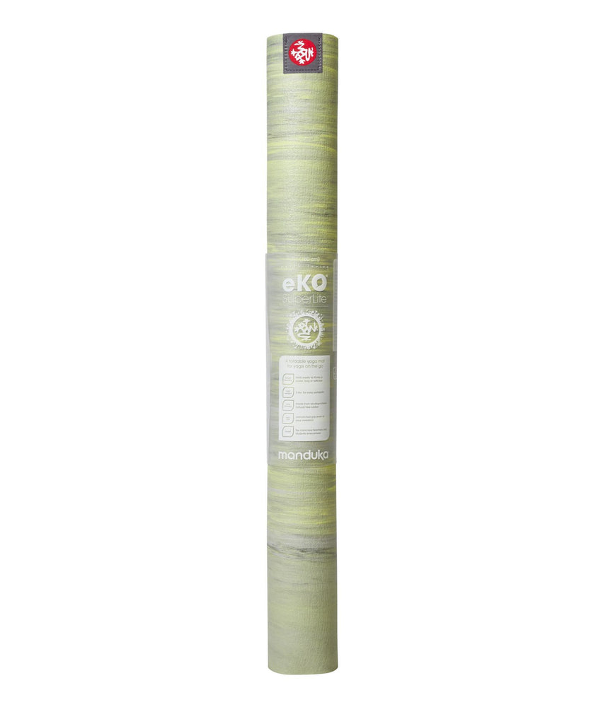 PRE-ORDER MAY Manduka eKO Superlite Mat 71'' - Limelight Marbled