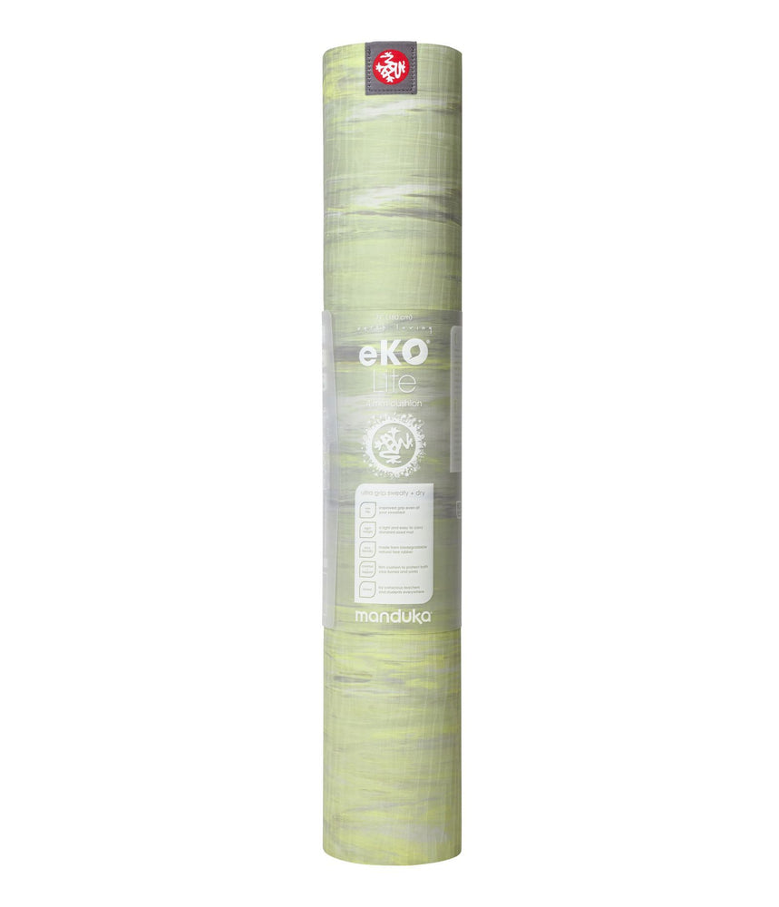 Pre-Order MAY Manduka eKO lite Mat 4mm 71''- Limelight Marbled