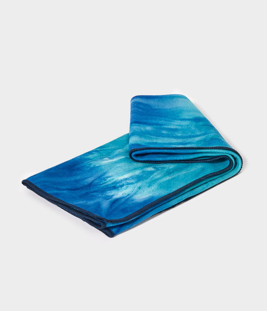 Manduka eQua Hand Towel - Pacific Blue HD