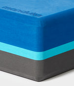 Manduka Recycled Foam Block - Pacific Blue