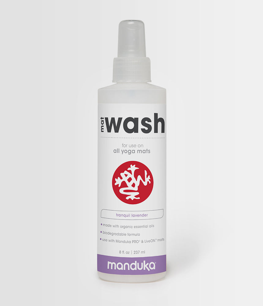 Manduka Mat Wash - Lavender - All Purpose Mats - 8 OZ - Wash Spray ( Pre-Order/Restock 7 JUNE 2021 )